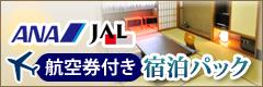 ANA・JAL 航空券付き宿泊パック